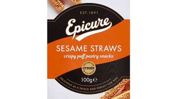 Epicure Sesame Straws 100g