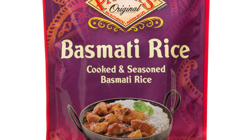 Pataks Basmati Microwave Cooked Rice 250g