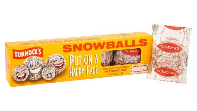 Tunnocks Marshmallow Snowballs 4pck 120g
