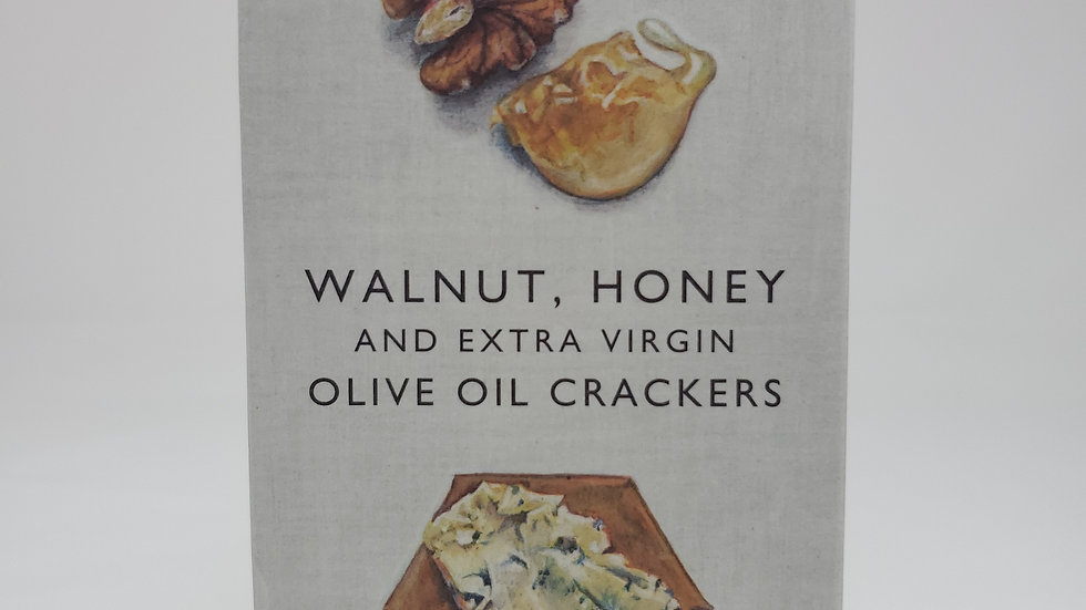 Fine Cheese Co. Walnut, Honey & Extra Virgin Olive Oil Crackers 125g