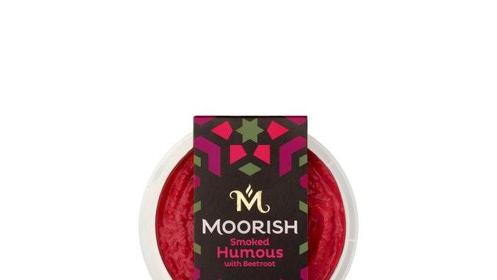 Moorish Original Smoked Humous with Beetroot 150g