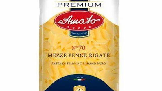 Amato Premium Pasta Mezze Penne Rigate No70 500g