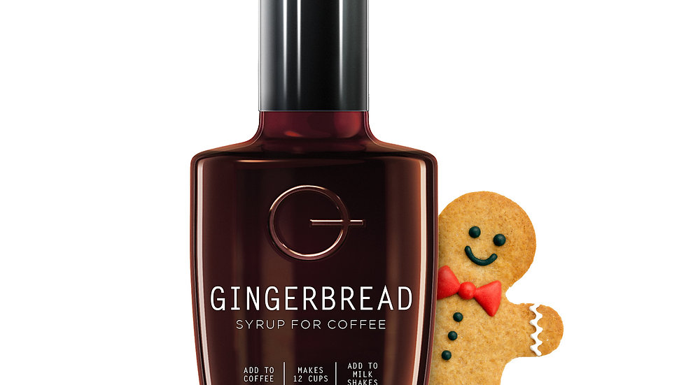 Quarterpast Gingerbread Syrup for Coffee 250g
