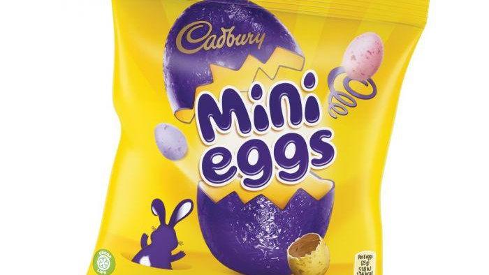 Cadbury Mini Eggs 80g