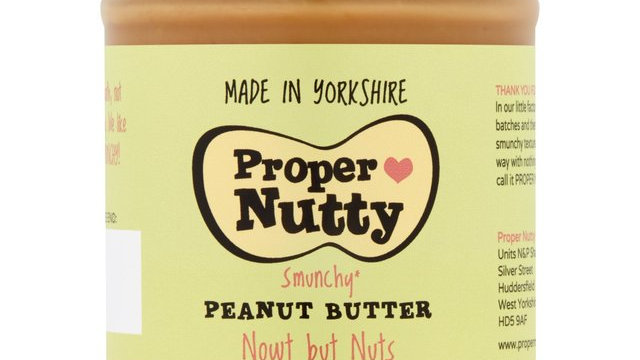 Proper Peanut Butter Nowt But Nuts 280g
