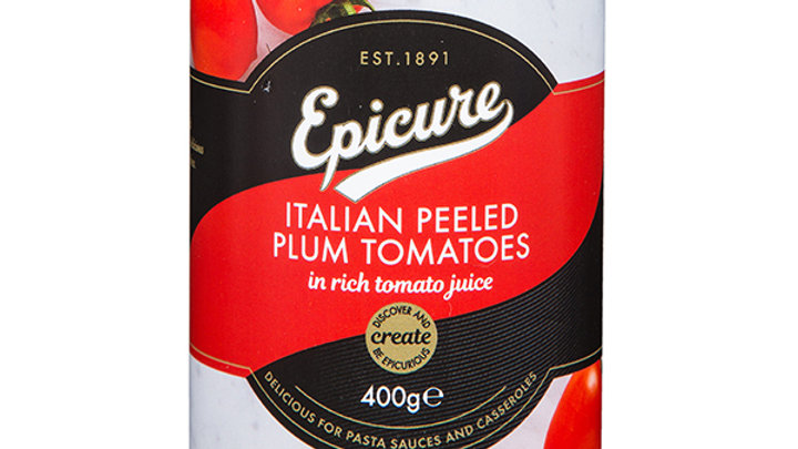 Epicure Plum Tomatoes 400g