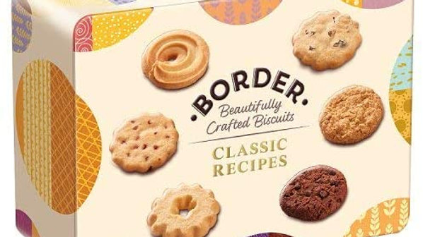 Border Biscuits Classic Selection Tin 500g