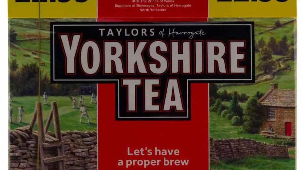 Taylor's Yorkshire Tea (80s) PM£2.99