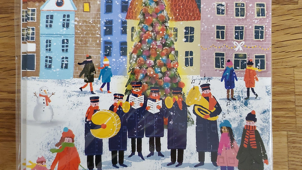 Almanac Gallery Charity Christmas Cards 8 Pack - The Town Tree