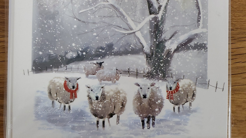 Almanac Gallery Charity Christmas Cards 8 Pack - In the Bleak Midwinter