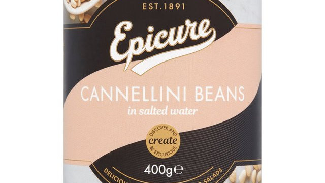 Epicure Cannellini Beans in Salted Water 400g