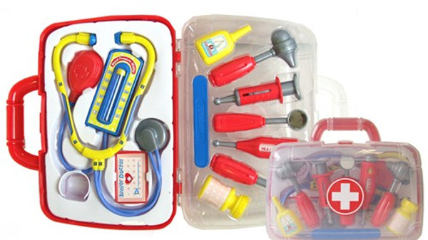 Peterkin Toy Play Doctors Set in carry case