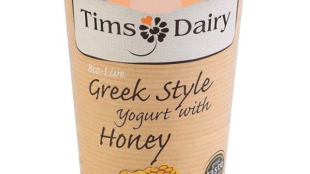 Tims Dairy Greek Style Yogurt with Honey 450g