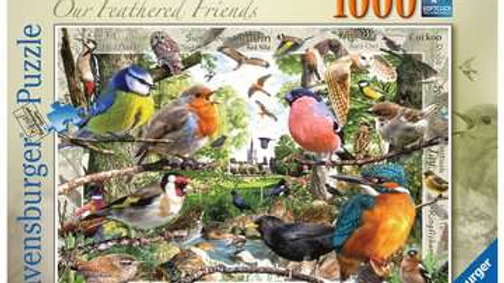 Ravensburger Jigsaw Puzzle 1000 Piece - Our Feathered Friends