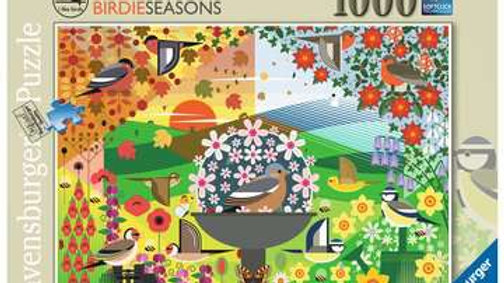 Ravensburger Jigsaw Puzzle 1000 Piece - I Like Birds Birdie Seasons