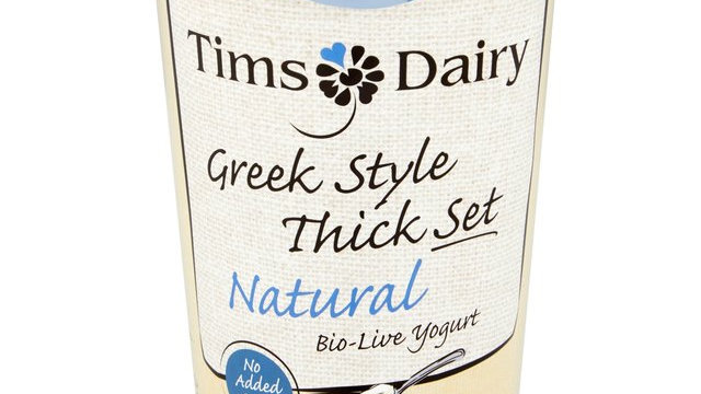 Tims Dairy Greek Style Thick Set Natural Yogurt 450g