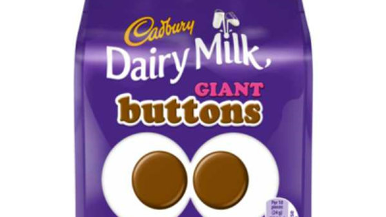 Cadbury Dairy Milk Giant Chocolate Buttons 95g