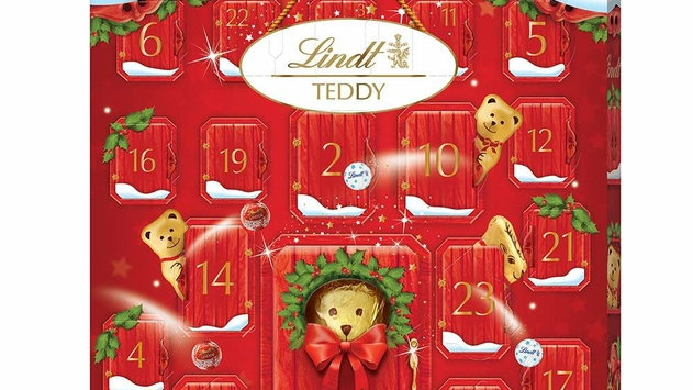 Lindt Teddy Bear Advent Calendar 250g