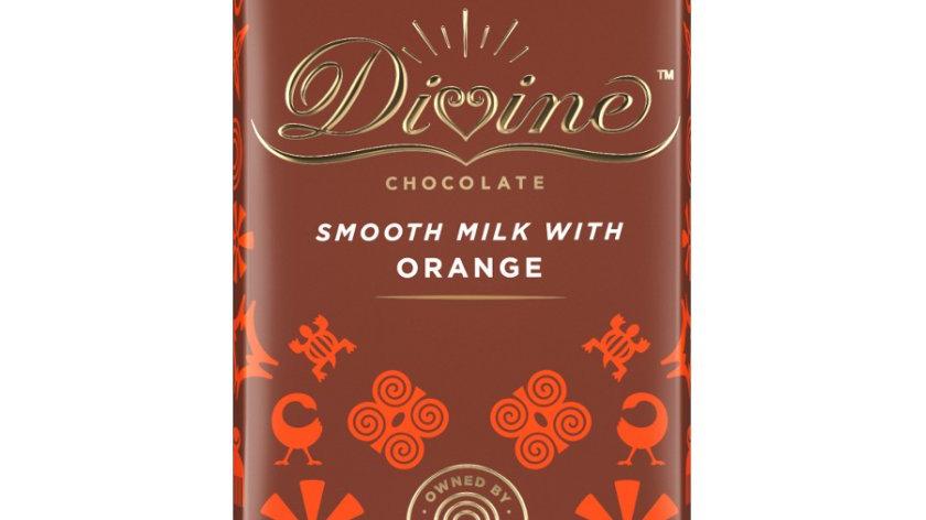Divine Chocolate Milk with Orange 90g