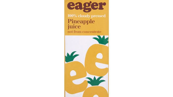 Eager Pineapple Juice 1lt