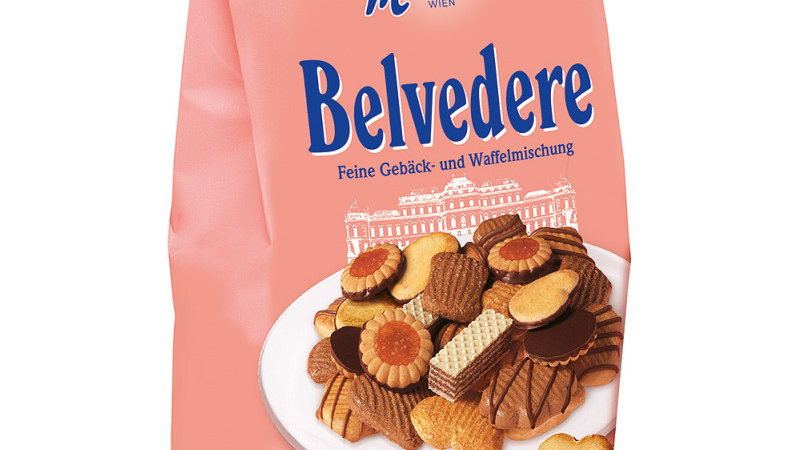 Manner Belvedere Biscuit & Wafer Assortment 400g