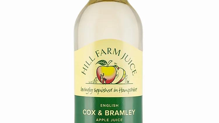 Hill Farm Cox & Bramley Apple Juice 75cl