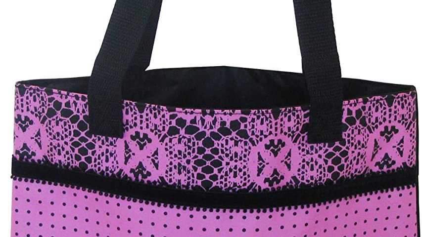 Hello Kitty Lace Design Large Tote Bag