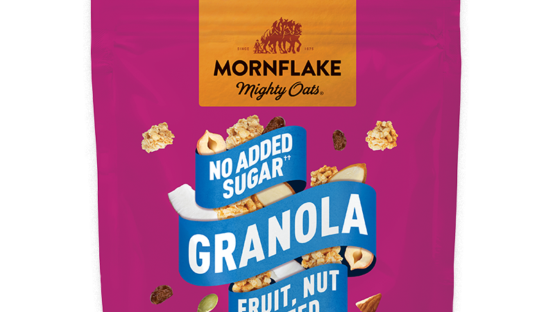 Mornflake No added sugar Granola Fruit Nut & Seed 500g