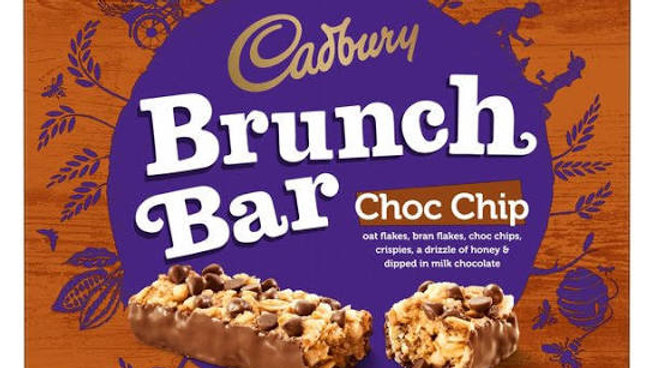 Cadbury Brunch Bar Choc Chip Multipack 6pk