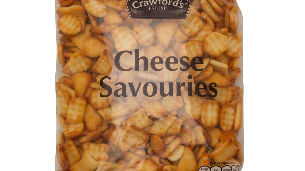 Crawfords Cheese Savouries 325g