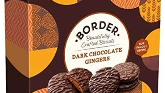 Border Biscuit Gift Pack Dark Chocolate Gingers 255g