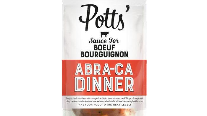 Potts Boeuf Bourguignion Sauce Abra-ca Dinner 400g