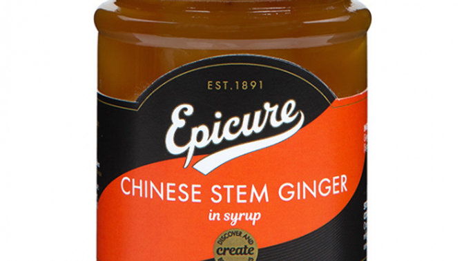 Epicure Chinese Stem Ginger in Syrup 225g