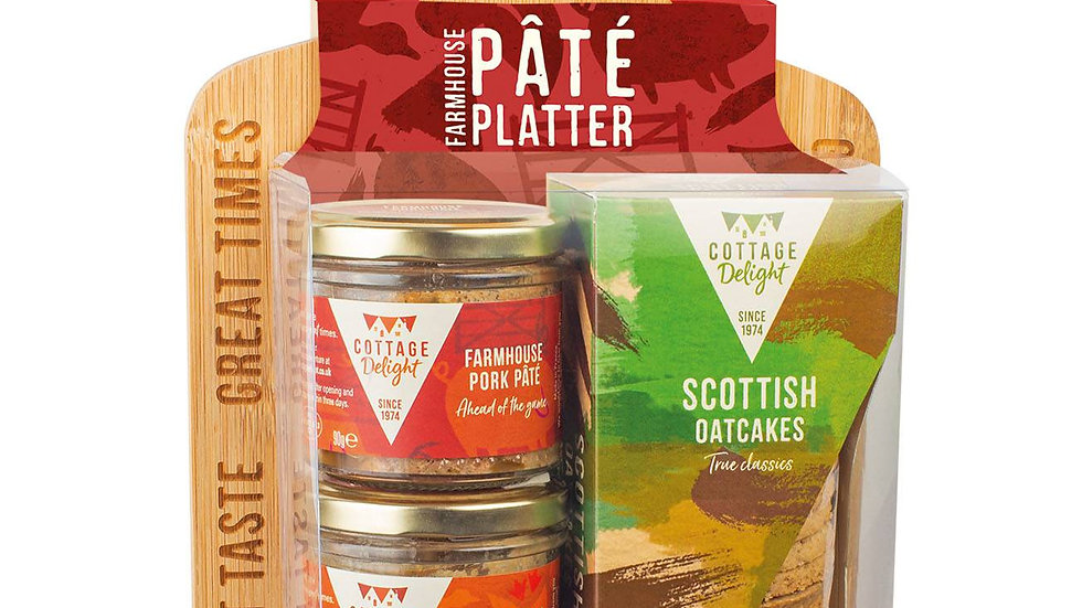 Cottage Delight Farmhouse Pate Platter Gift Pack