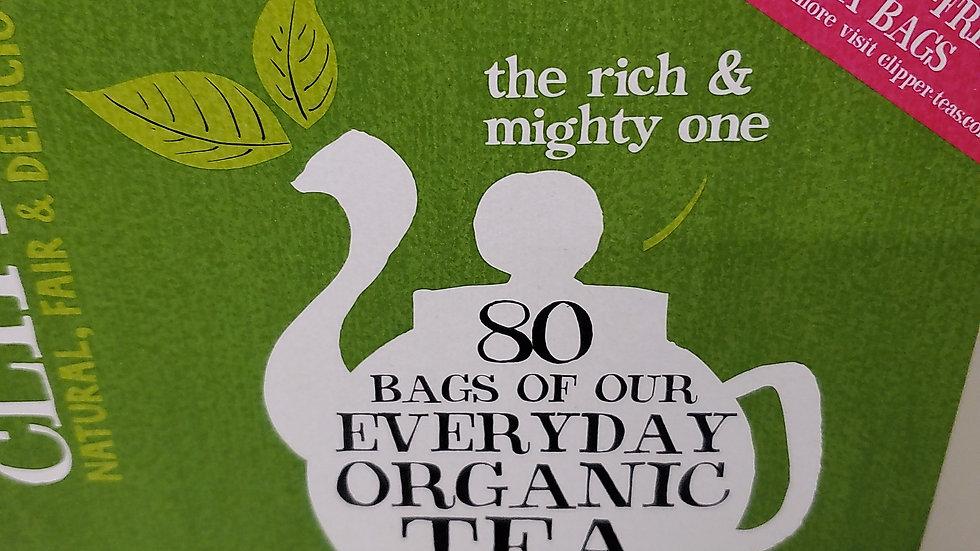 Clipper Organic Fairtrade Everyday Tea (80s)
