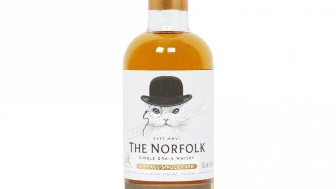 The Norfolk Single Grain Whisky Malt n Rye 500ml