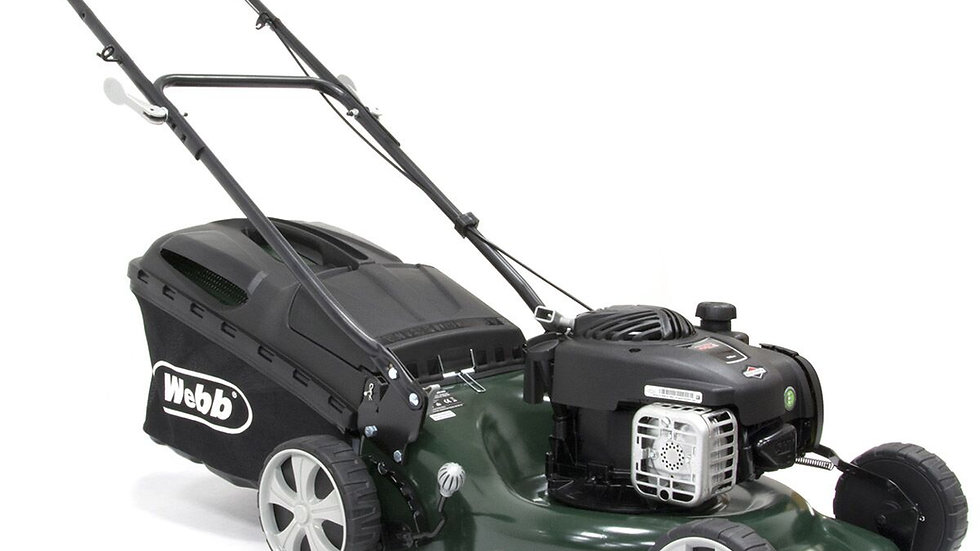 Webb Elite 42cm Self Propelled Petrol Lawnmower WER42SP