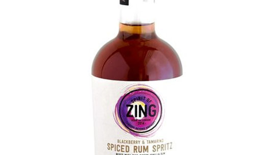 Zing Blackberry & Tamarind Spiced Rum Spritz 17% ABV 500ml