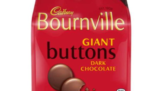Cadbury Bournville Giant Buttons 95g