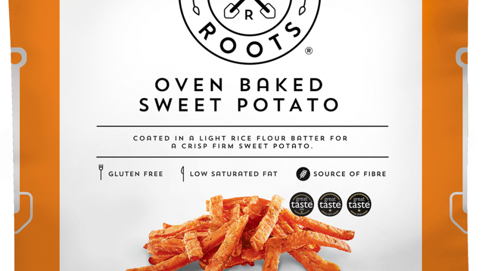 Strong Roots Oven Baked Sweet Potato 500g