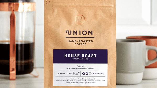 Union Coffee Ground House Blend 200g