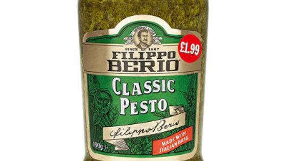Fillipo Berio Classic Green Pesto 190g PM£1.99
