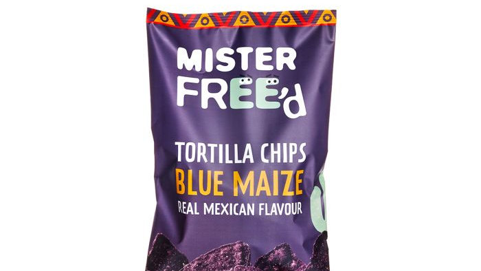 Mister Freed Tortilla Chips Blue Maize
