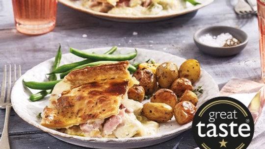 Cook Chicken, Ham & Leek Pie 4 Portion Ready Meal