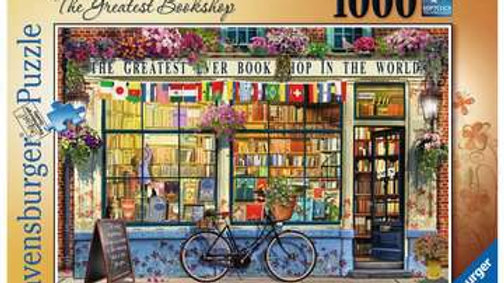 Ravensburger Jigsaw Puzzle 1000 Piece - The Greatest Bookshop