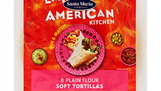 Santa Maria Soft Flour Tortilla Wraps (8)