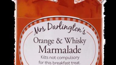 Mrs Darlingtons Orange & Scotch Whisky Marmalade 340g