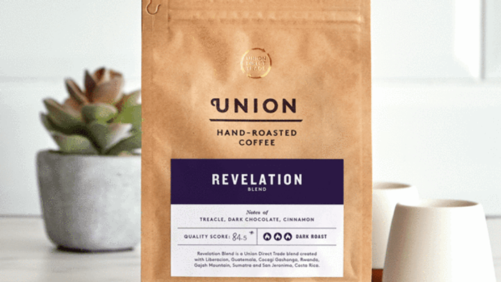 Union Coffee Ground Revelation Espresso 200g