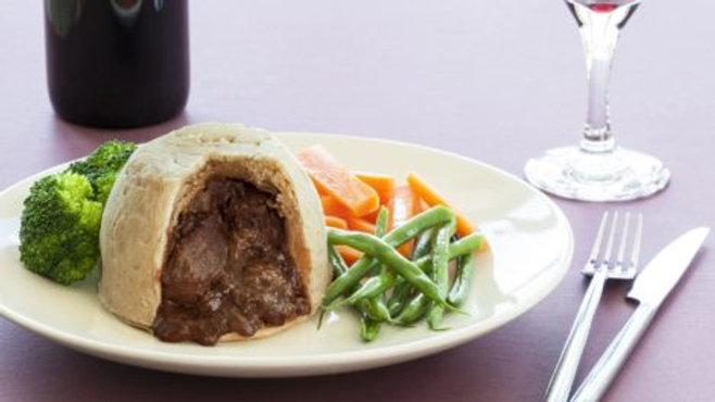 Fieldfare Steak and Kidney Suet Pudding