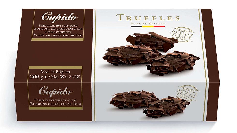 Cupido Belgium Chocolate Dark Flaked Truffles 200g
